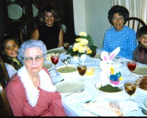 Easter Dinner - Dadee & Mom Adj