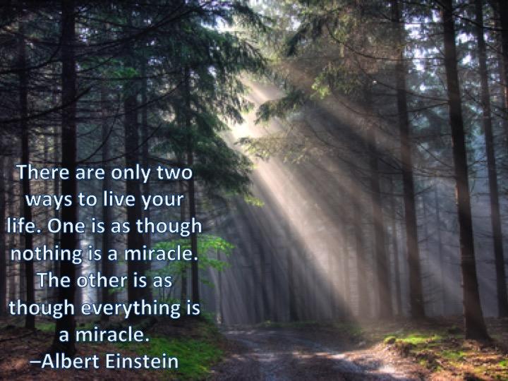 Robin2bperini Wednesday Wisdom Einstein And Miracles